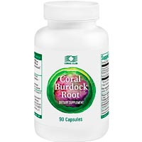 Coral Burdock Root (90 caps)